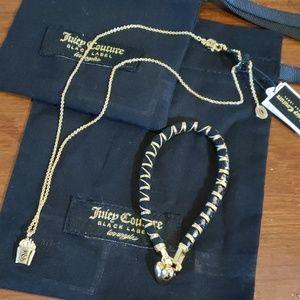 Juicy necklace & bracelet